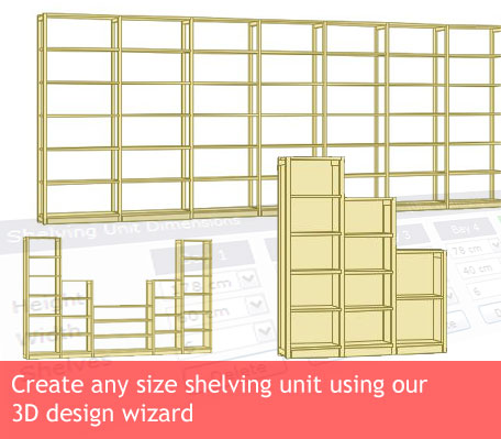 Wooden Shelves, Shelving Units, Bookcases & Storage Solutions