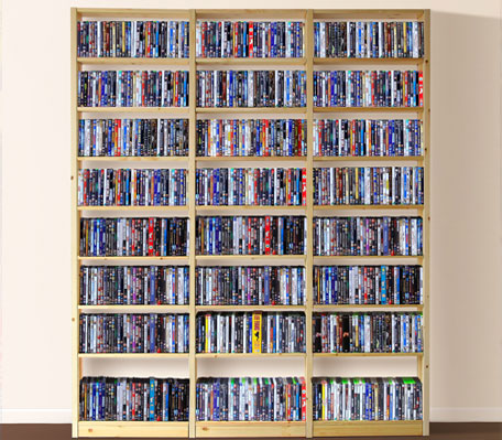 Shelving Systems | DVD Shelves, DVD Shelving