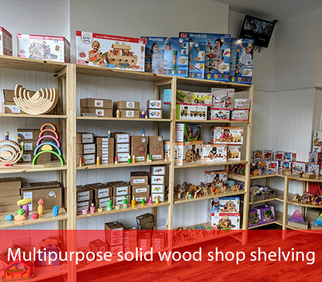 Shop Shelving Unit 3